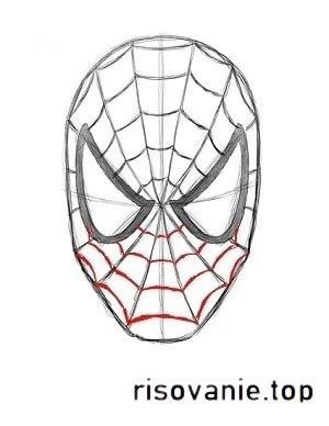 Як намалювати Людину-павука