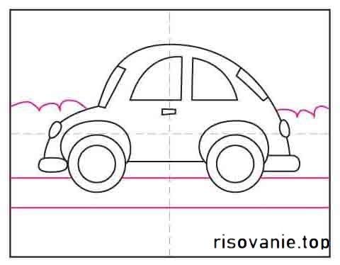 Як намалювати авто