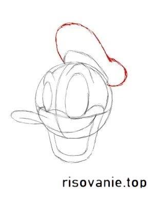 Як намалювати Дональда Дака