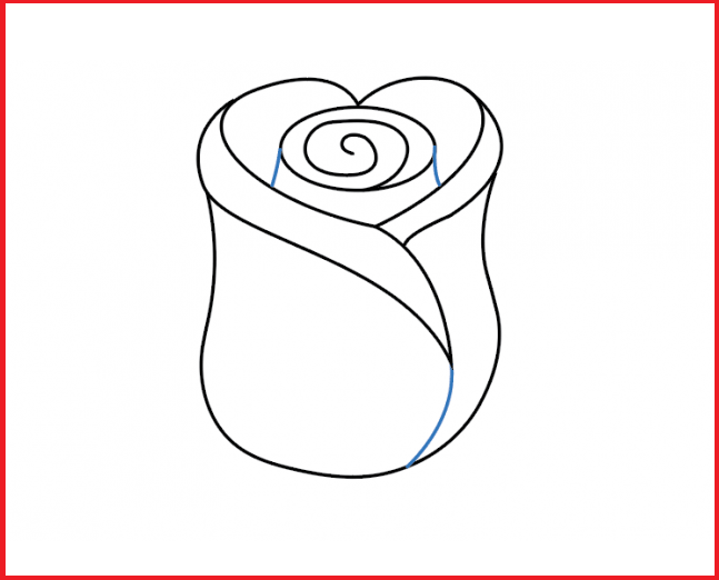 Як намалювати троянду